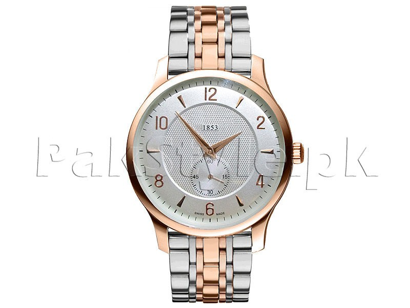 Men's Down Second Two-Tone Bracelet Watch