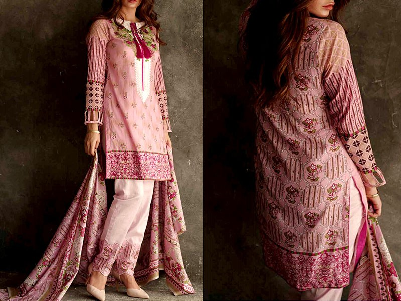 Libas Embroidered Lawn Dress LS-2A