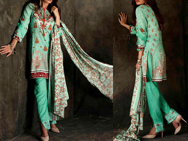 Libas Embroidered Lawn Dress LS-5A