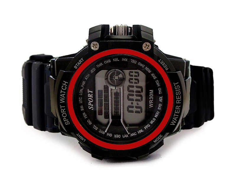 s sports watch watches waterproof with zoom wristwatch digital pu band skmei men