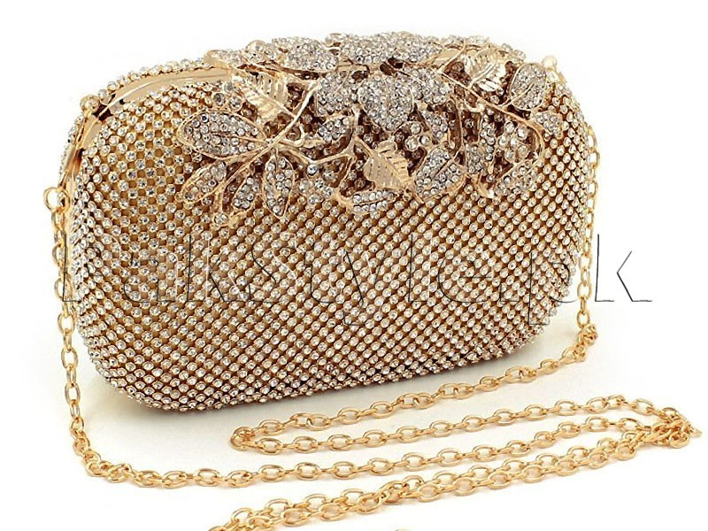 Brown Evening Clutch Bag Price in Pakistan