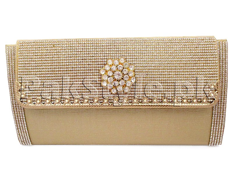 5642e4524 Golden Evening Clutch Bag Price in Pakistan (M011012) - 2019 Prices ...