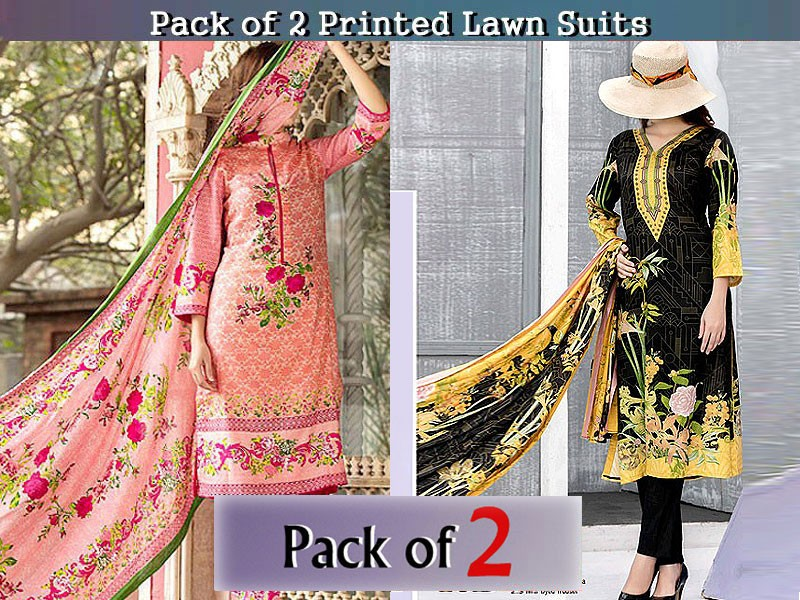 Pack of 2 VS Classic Lawn Suits