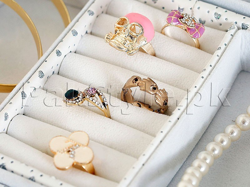 Digital Print Jewelry Storage Box