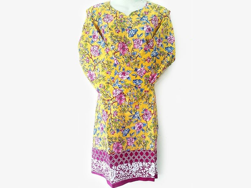 Pack of 2 Printed Lawn Kurtis for Women
