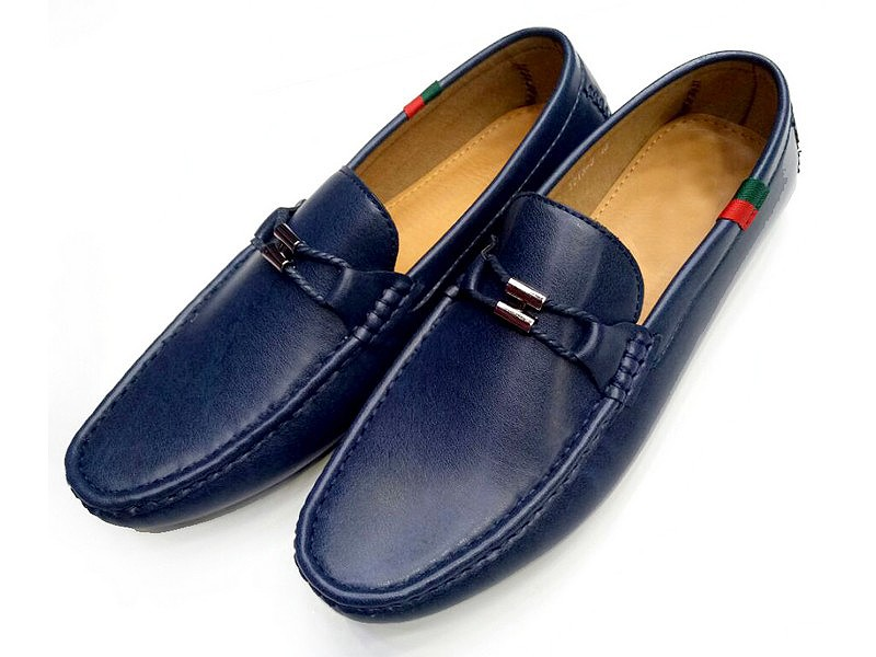 Comfortable Formal Loafer Shoes - Blue Price in Pakistan