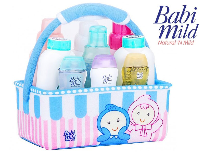 9 Babi Mild Products Gift Basket