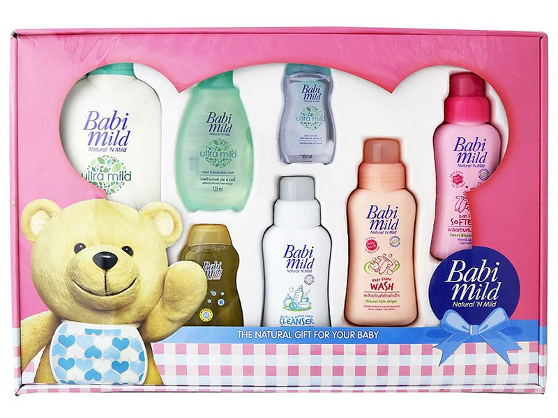 7 Babi Mild Products Gift Set