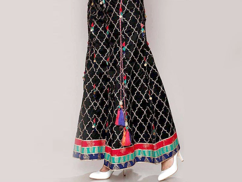 Boski Linen Black Sharara Price in Pakistan