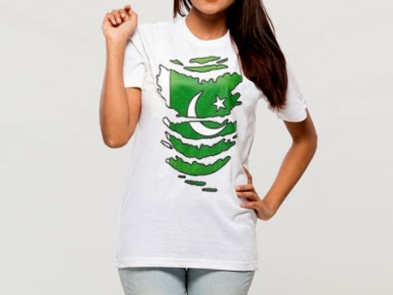 Independence Day T-Shirt For Girls
