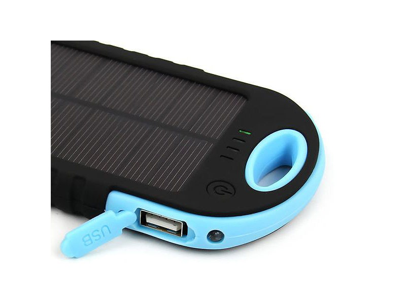 30000mAh Dual USB Solar Power Bank