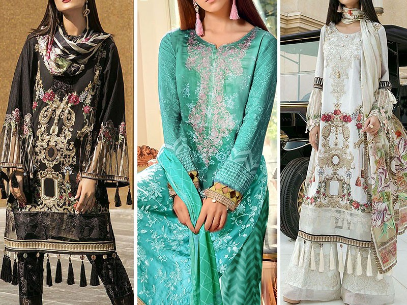 VS Classic Lawn 2018 with Lawn Dupatta VS-11B Price in Pakistan