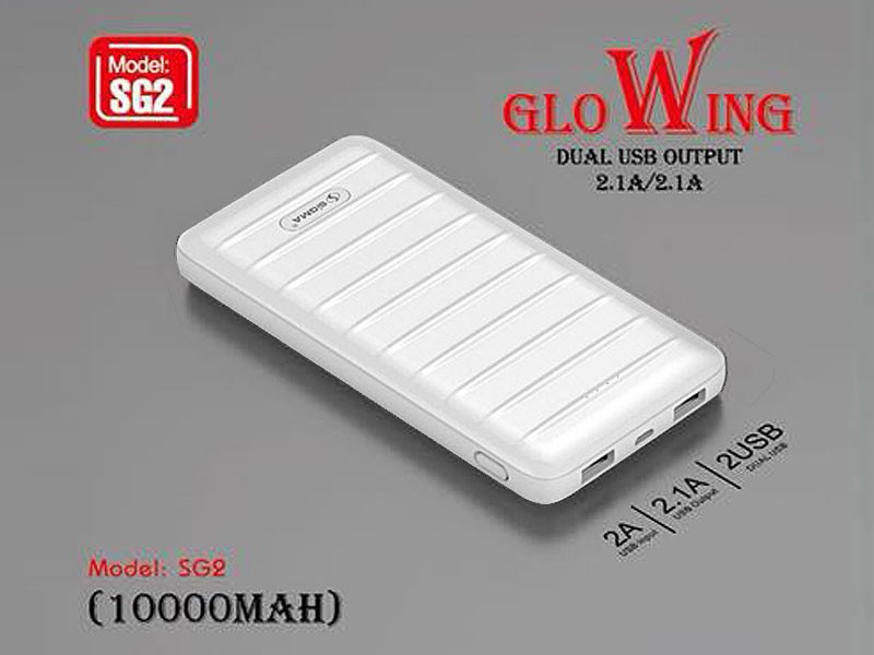 Sigma Dual USB Output Power Bank 10000mAh