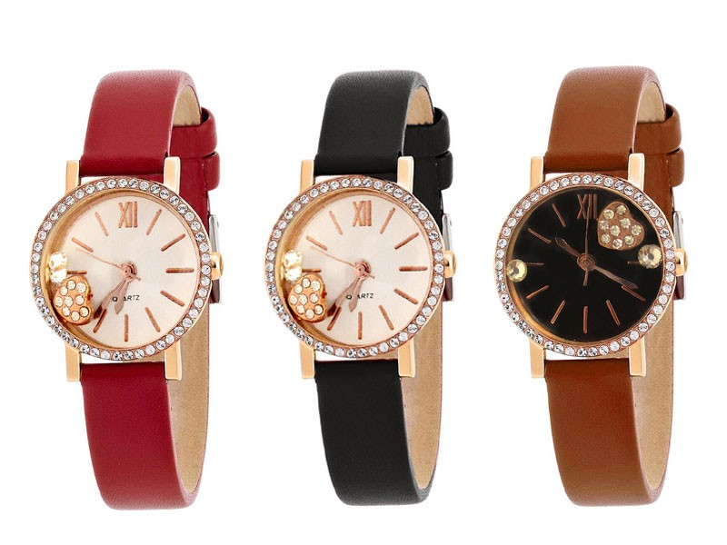 Pack of 3 Girls Watches