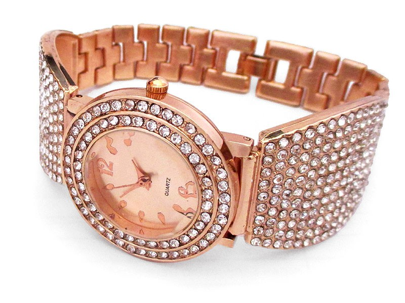 Rose Golden Women's Bracelet Watch