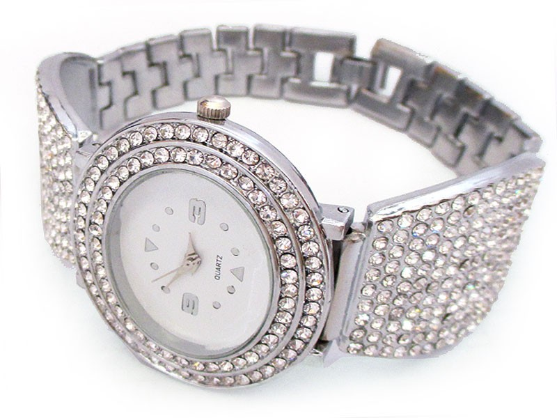 Silver Women's Bracelet Watch