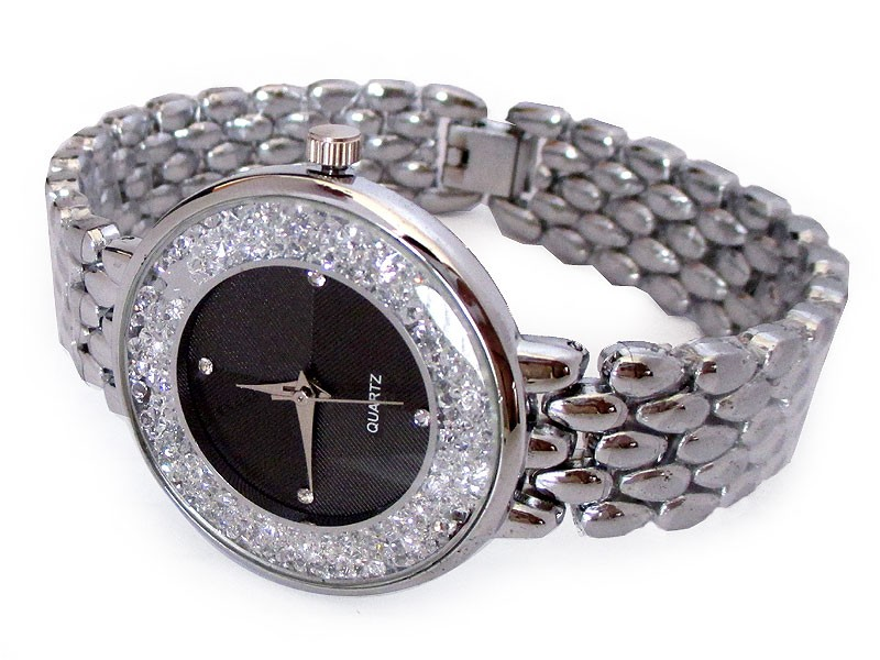 Rhinestone Silver Women's Watch Price in Pakistan