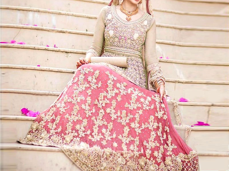 Heavy Embroidered Chiffon Bridal Dress Price In Pakistan M011589 2019 Prices Reviews,Dress Sandals For Beach Wedding