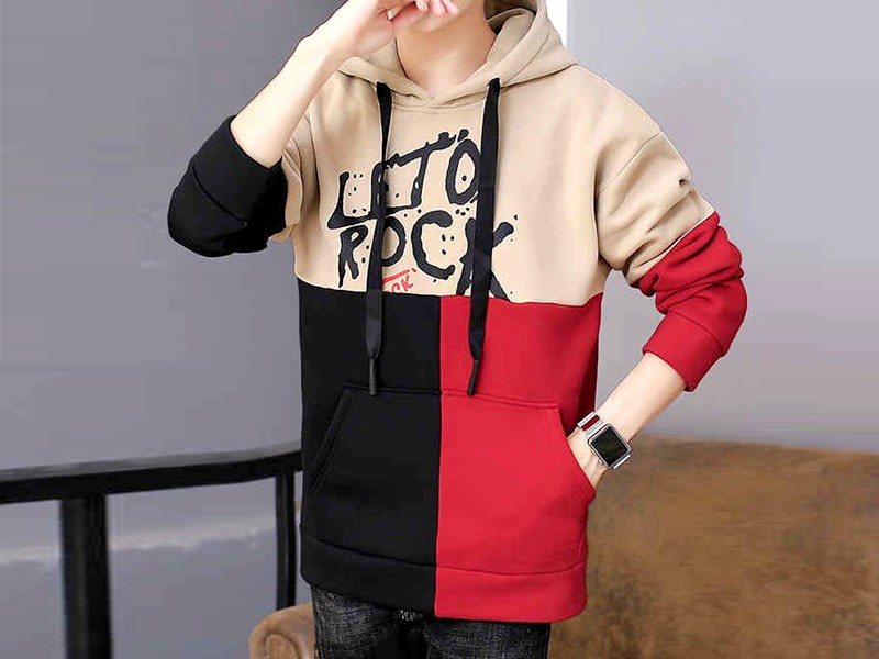 Stylish Leto Rock Pullover Hoodie