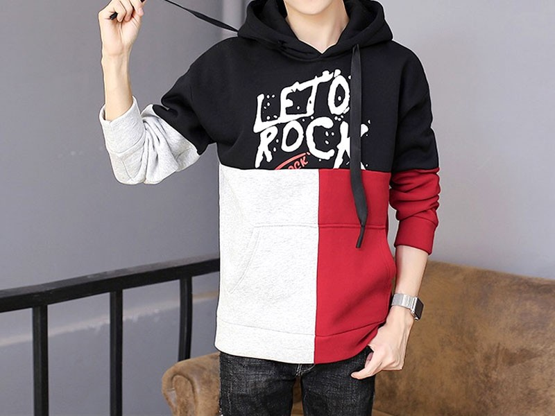 Stylish Leto Rock Pullover Hoodie Price in Pakistan (M011593 ... 285cc99a5f