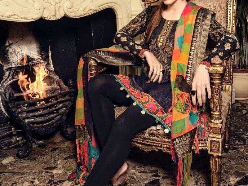 Libas Embroidered Lawn Dress LS-2A Price in Pakistan