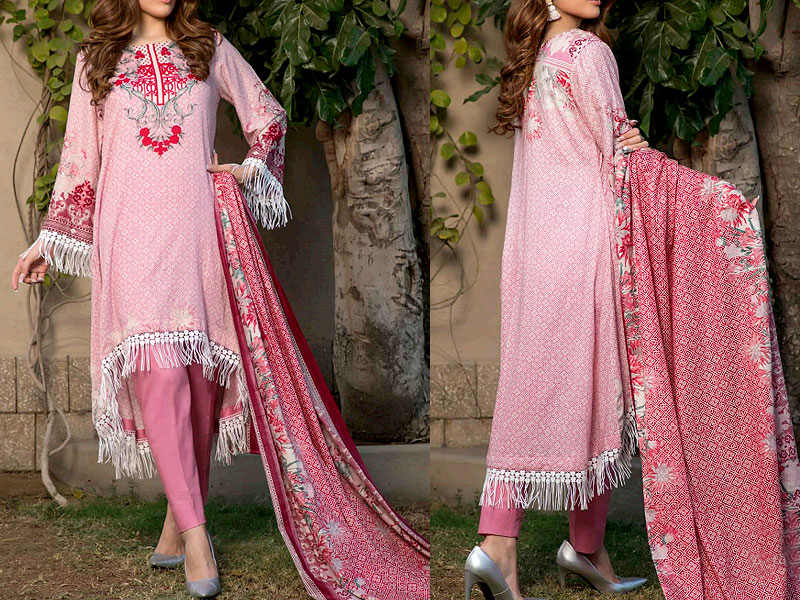 ZS Textile RangReza Lawn 2019 with Lawn Dupatta ZS-6A Price in Pakistan