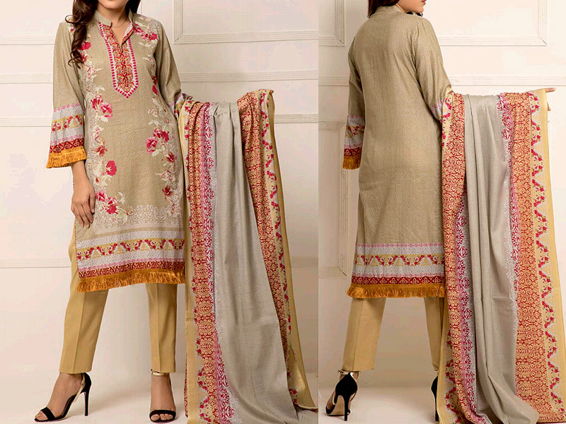 ZS Textile RangReza Lawn 2019 with Lawn Dupatta ZS-8A Price in Pakistan