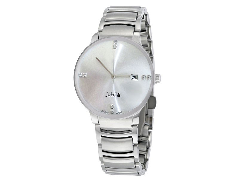 Elegant Men's White Dial Watch