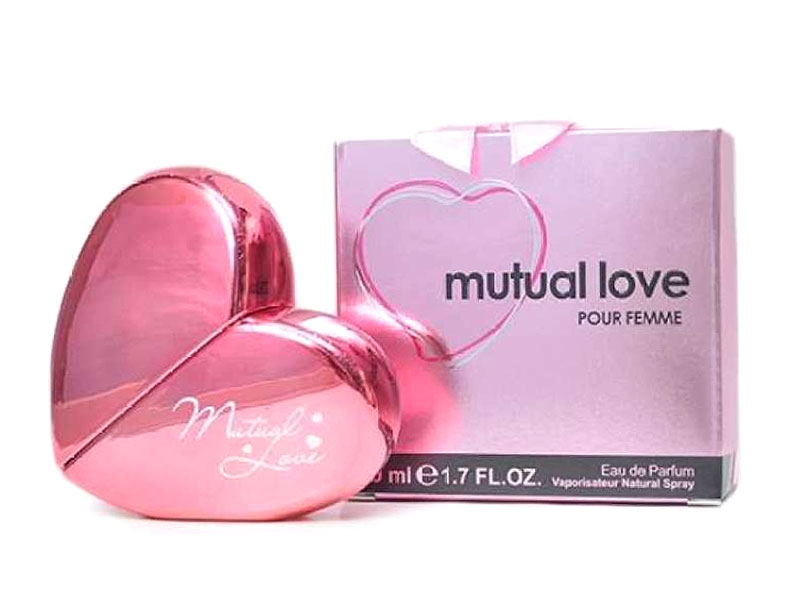 Pack of 3 Mutual Love Perfume for Her - 50ML
