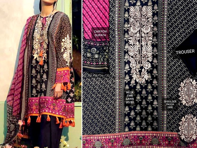 Venezaa Nimra Classic Lawn Suit Price in Pakistan