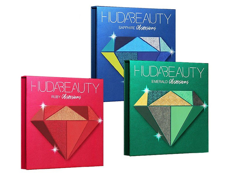 Pack of 3 Huda Beauty Eyeshadow Palettes