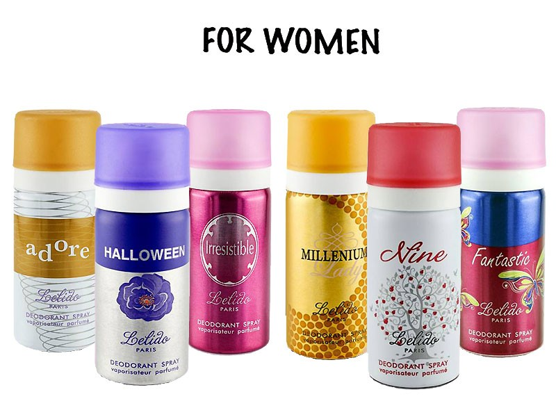 Pack of 4 Mini Perfumes for Women - 15ml Price in Pakistan