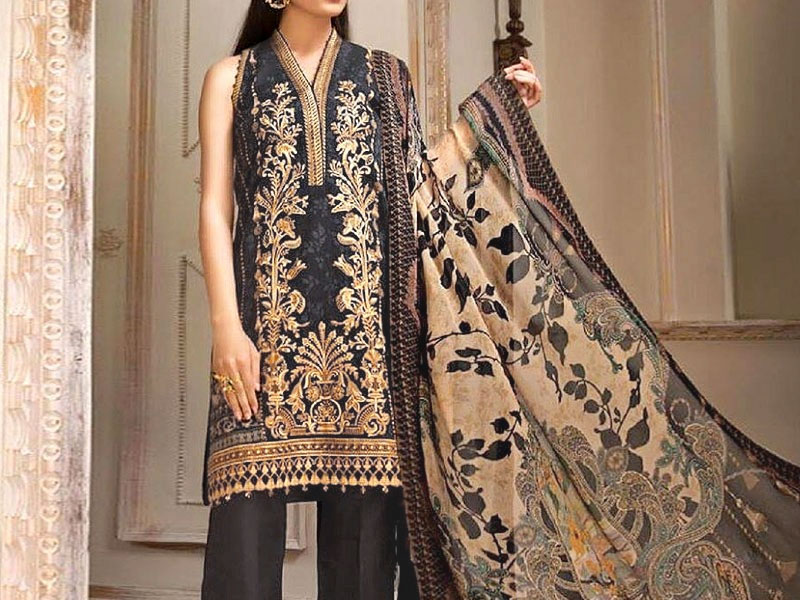 Star Royal Linen Suit with Shawl Dupatta 12009-C Price in Pakistan