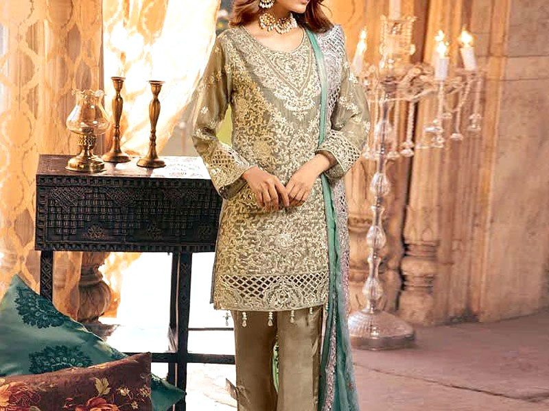Heavy Embroidered Masoori Dress Price in Pakistan