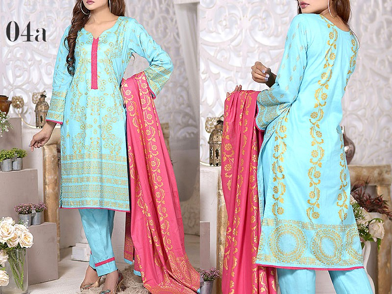 Mysoori Gold Banarsi Lawn Collection 2020 - 4A Price in Pakistan