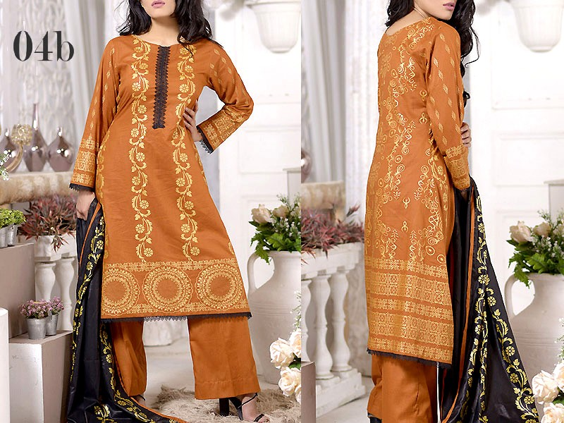 Mysoori Gold Banarsi Lawn Collection 2020 - 4B Price in Pakistan