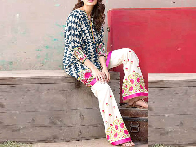 VS Lawn Collection 2019 with Lawn Dupatta VS-106A Price in Pakistan