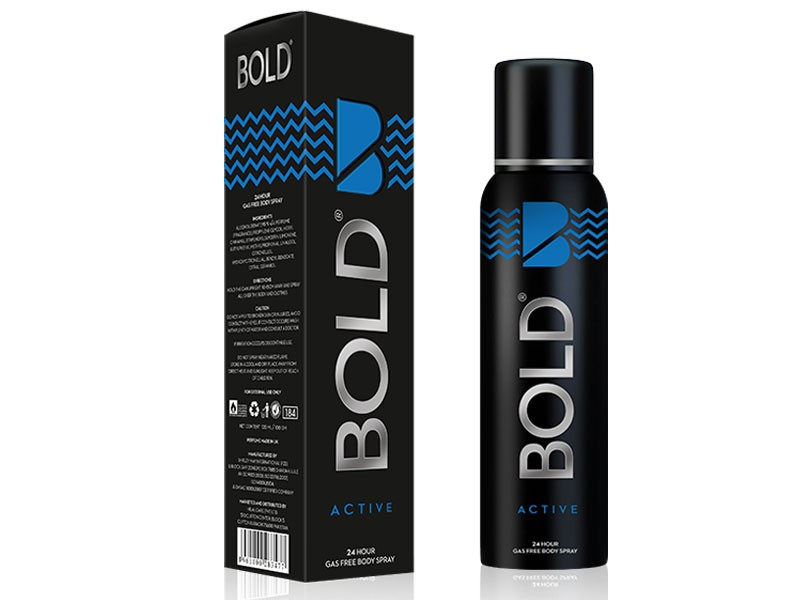 Pack of 2 BOLD Body Spray for Men 120ML