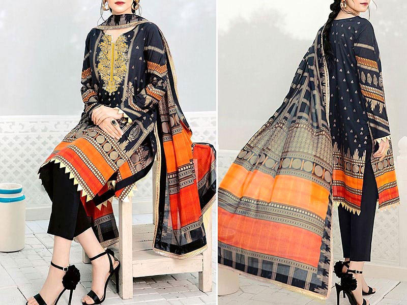 Block Print Banarsi Lawn Collection 2020 Price in Pakistan