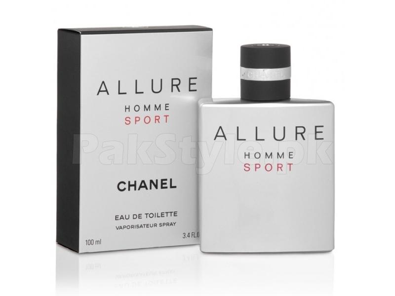 Chanel allure sport kaina