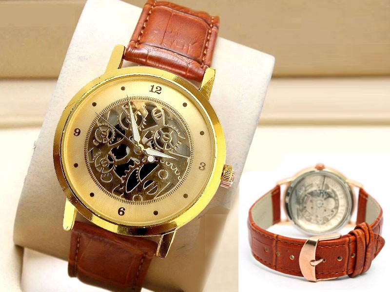 Men's Down Second Two-Tone Bracelet Watch Price in Pakistan