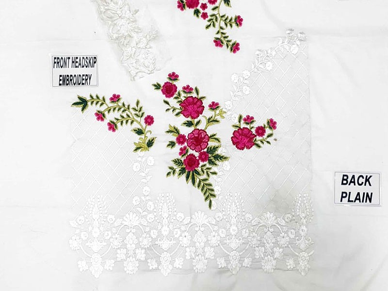 2-Pcs Embroidered Lawn Dress 2021