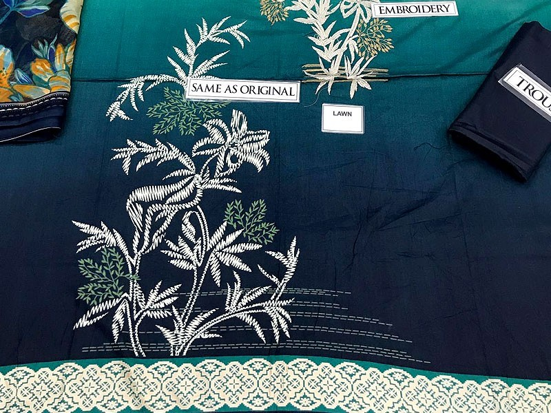 Pack of 2 Embroidered Lawn Suits