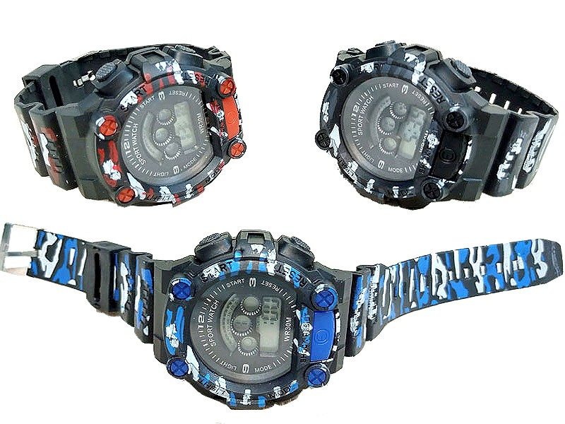 Pack of 3 Kids Commando Watches Price in Pakistan