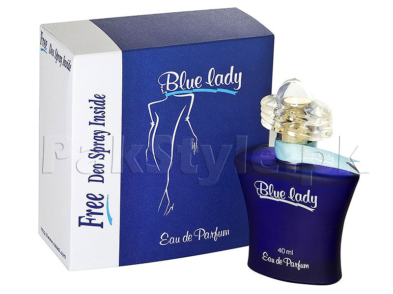Rasasi Blue Lady with Free DEO