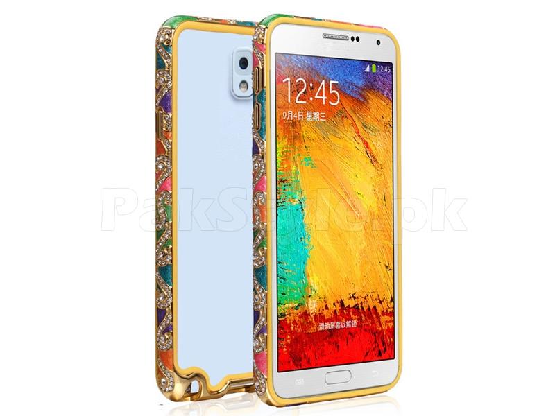 newest 8f947 213c0 Samsung Galaxy Note 3 Diamond Bumper Cover