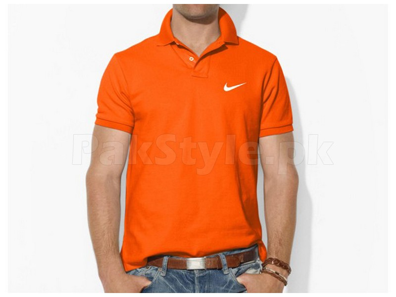 orange colored nike t shirt price in pakistan m002644. Black Bedroom Furniture Sets. Home Design Ideas