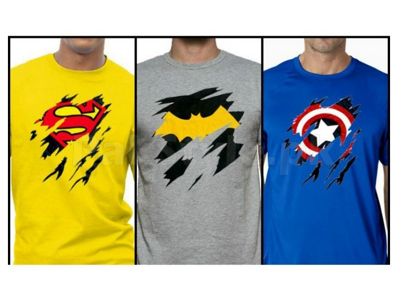 3 superhero t shirts bundle deal price in pakistan. Black Bedroom Furniture Sets. Home Design Ideas