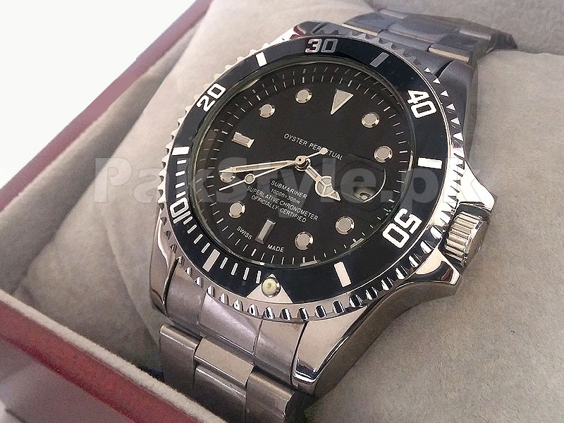 Rolex Submariner Watch - Black Dial Price in Pakistan