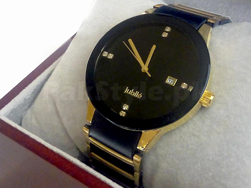 Rado Centrix Jubile Watch - 2 Tone Golden Price in Pakistan